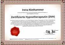 Zertifizierte Hypnotherapeutin