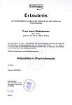 Heilpraktikerin (Psychotherapie)