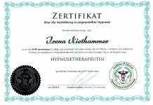 Hypnosetherapeutin